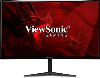 شاشة عرض منحنية 1500r مقاس 27 بوصة ومعدل تحديث 165 هرتز لالعاب الفيديو من فيوسونيك VX2718-PC-MHD