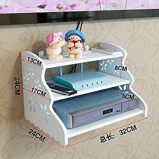 BBGSFDC Sala de TV Flotante Gabinete, Unidad de Montaje en Pared Entretenimiento, Blanca Regalo-A (Size : B)