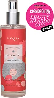 Mantra (By Baidyanath Research Foundation) Herbal Gulab Arka - Indian Rose Water Refreshing Toner -250 ml