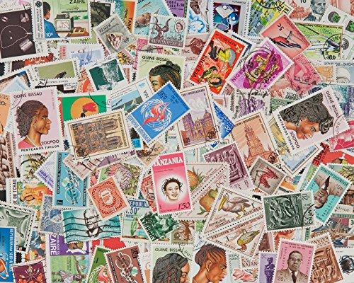 Goldhahn 200 Briefmarken Afrika Briefmarken für Sammler