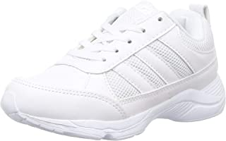 Sparx Boy's White School Shoes- 1 Kids UK (33 EU) (SX0514C_WHWH0001)