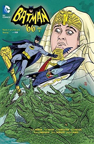 Batman '66 Volume 2 TP by Jonathan Case (Artist), Jeff Parker (5-May-2015) Paperback