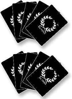 Da Vinci 10 Poker Size Cut Cards 100% Plastic Made in Italy
