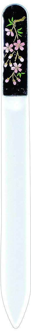 広大な抽出ウェーハ橋本漆芸 ブラジェク製高級爪ヤスリ しだれ桜 紙箱