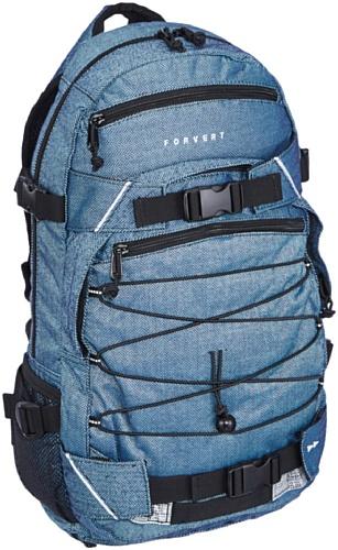 FORVERT Backpack New Louis, Flannel Blue, 50.5 x 26.5 x 12 cm, 19.5 Liter, 880060
