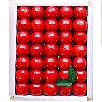 山形県産 安達さんのプレミアム さくらんぼ 佐藤錦 特選 2L以上 大粒サイズ 約500g 桐箱入り