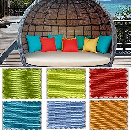 YSGLIFE Pack de 2, 45x45cm Funda de Almohada Impermeable Funda de Almohada para el Hogar al Aire Libre Decoración Fundas de Cojín Protectores para Coche Cama Sofá Silla Muebles de Jardín