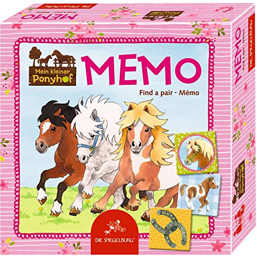 Spiegelburg 14791 Memo Mein kleiner Ponyhof