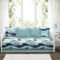 Lush Decor Lush Décor Sea Life 6 Piece Daybed Cover Set