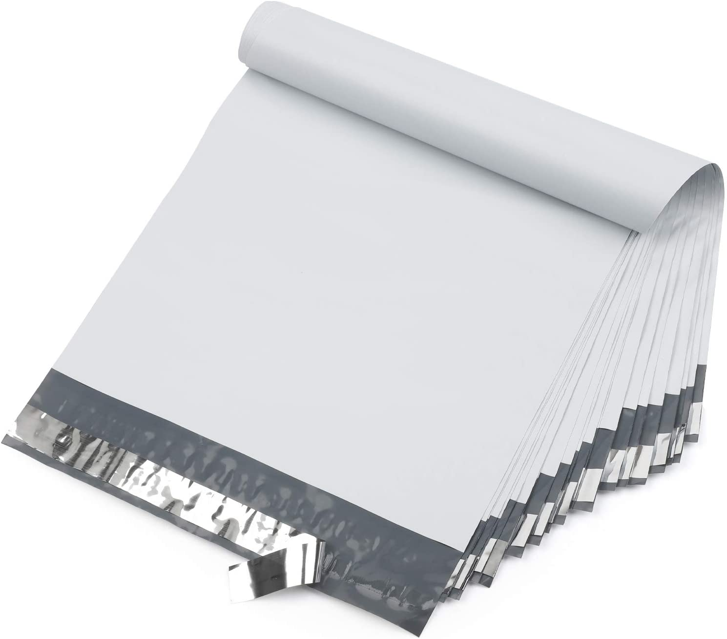 Offitecture 100-Pack 12x15.5 Poly Mailers Shi Self Max 67% OFF Sealing White free shipping