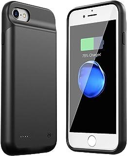 HiKiNS Funda Batería para iPhone 6/6S/7/8 3000mAh Externa Ultra Batería Recargable Power Bank Case Funda Cargador Portatil Batería para iPhone 6/6S/7/8