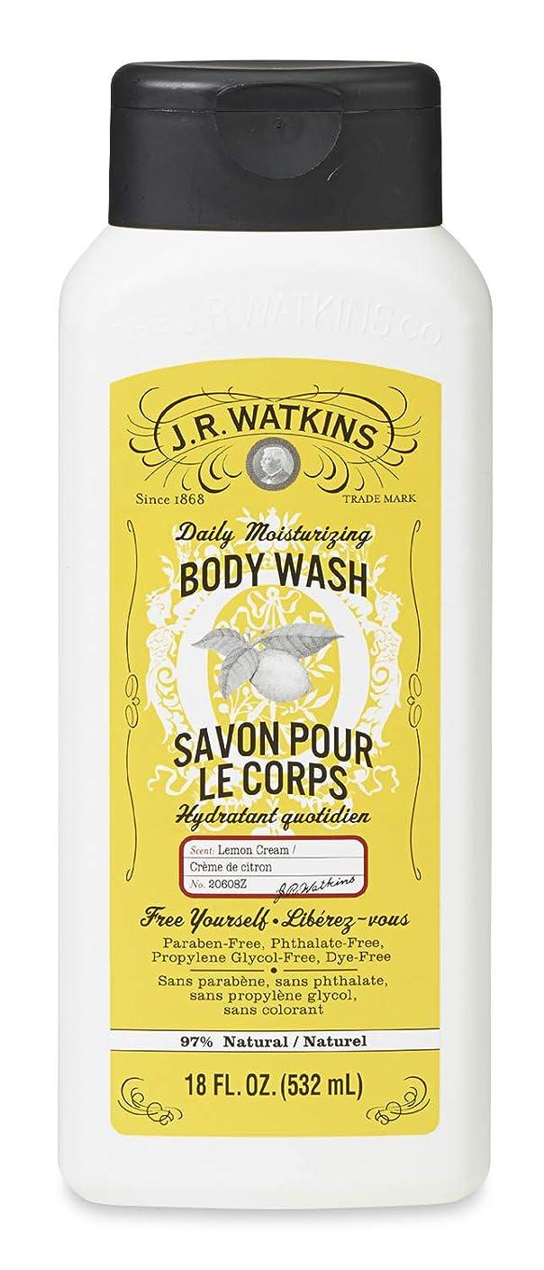 強風血統染色J.R.Watkins(ジェイ?アール?ワトキンス) ボディウォッシュ レモンクリーム 532ml