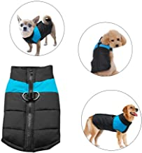 Didog Cold Weather Dog Warm Vest Jacket Coat,Pet Winter Clothes for Small Medium Large Dogs,8