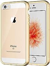 JETech Funda Compatible Apple iPhone SE 2016 (NO es compatible 2020) 5s 5, Carcasa Anti-Choques/Arañazos, Oro