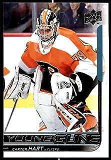 756fa8ec5ba 2018-19 Upper Deck NHL Series 2 Young Guns #491 Carter Hart RC Rookie