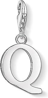Thomas Sabo Femmes-Pendentif charm Lettre Q Charm Club Argent Sterling 925 0191-001-12