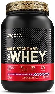 comprar comparacion Optimum Nutrition ON Gold Standard 100% Whey Proteína en Polvo Suplementos Deportivos, Glutamina y Aminoacidos, BCAA, Choc...