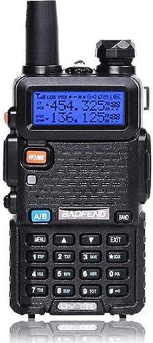 BAOFENG UV-5R Two Way Radio Dual Band 136-174/400-480Mhz Walkie Talkie 1800mAh Li-ion Battery
