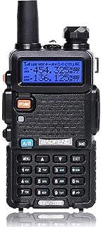 Baofeng UV-5R Two Way Radio Dual Band Walkie Talkie 1800mAh Li-ion Battery(Black)