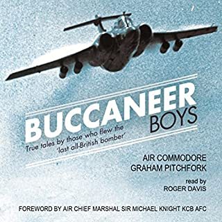 Buccaneer Boys: True Tales by Those Who Flew the 'Last All-British Bomber'                   De :                                                                                                                                 Graham Pitchfork                               Lu par :                                                                                                                                 Roger Davis                      Durée : 10 h et 31 min     Pas de notations     Global 0,0