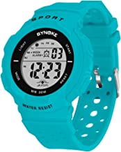 Women's Sports Watch Waterproof Digital Watch with Alarm, Backlight and Stopwatch