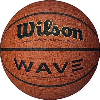 Wilson NCAA Wave Microfiber Composite Basketball, Orange