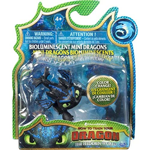 Dragons- How to Train Your Dragon Mini Draghi, Modelli Assortiti, Multicolore, 6045465