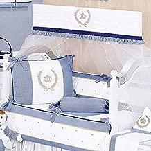 Kit de Berço Majestade, 09 Peças, Giz de Cor Confecções
