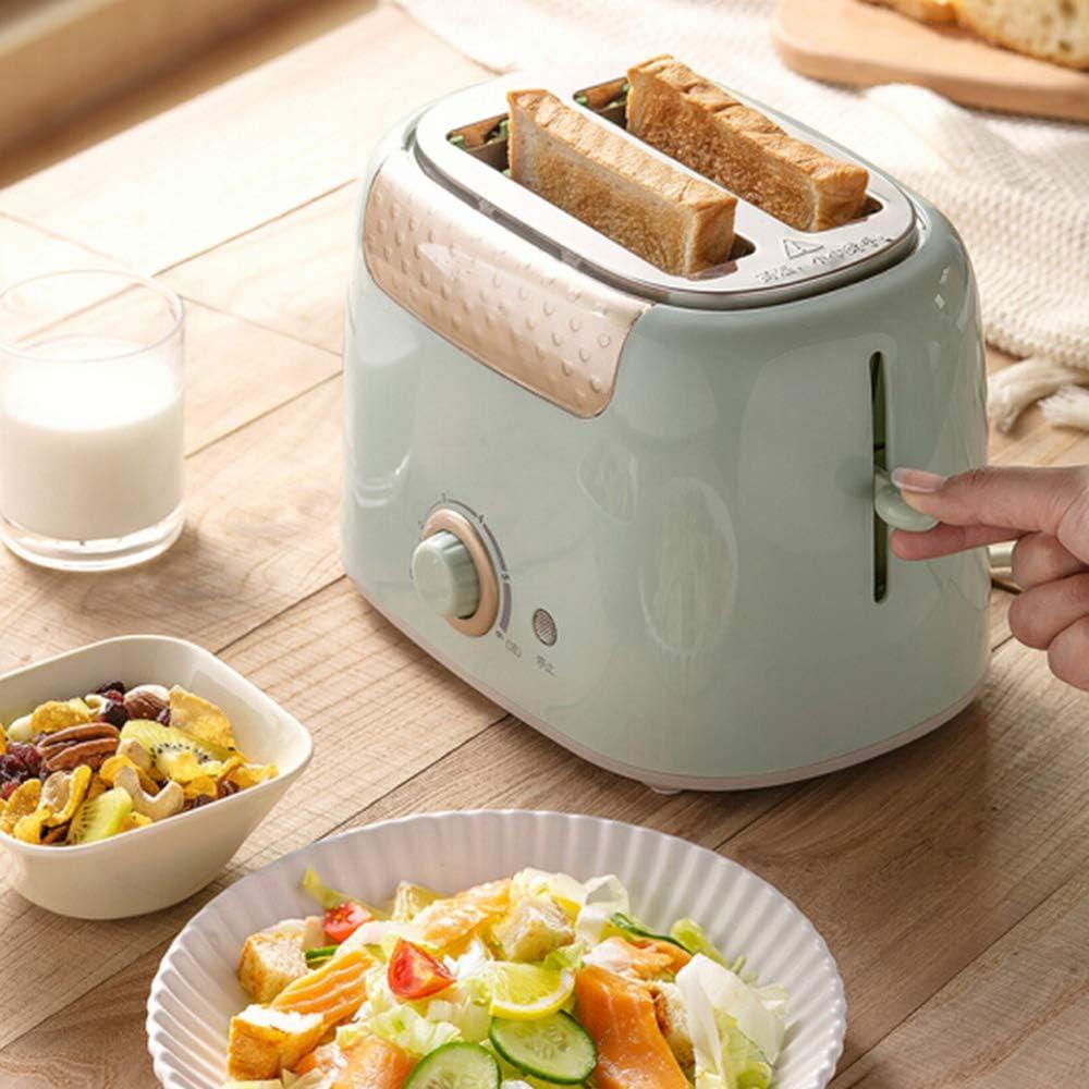 Broodrooster Sandwich Ontbijtmachine Kleine Automatische Broodrooster Dubbelzijdig Bakken Multifunctionele Ontbijtmachine,2 1