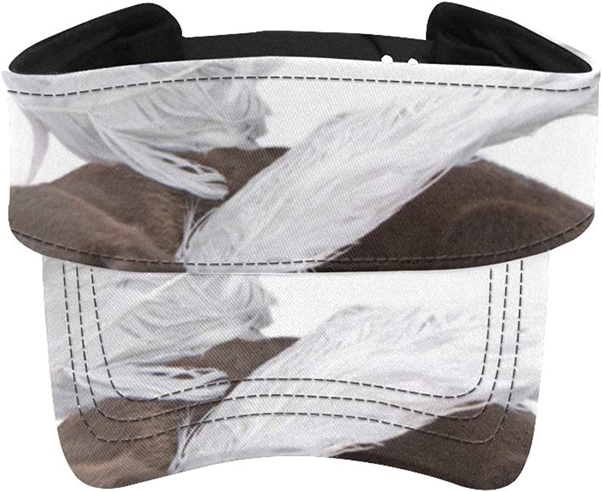 WUTMVING Fishing Visor Cap Fantasy Womens with Ranking TOP3 Puppy Angel Wings famous