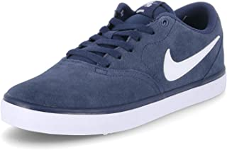 Nike Sb Check Solar, Men's Skateboarding Shoes, Blue (Midnight Navy/White)