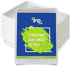 PD Supreme 9-inch verf lade Liners (10 Pack), past 9 inch verf lade, geribbelde randen gebouwd voor 9 inch verf Roller bor...