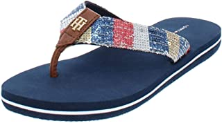 3bf5d07bd Tommy Hilfiger Womens Contina Thong Sequined Flip-Flops
