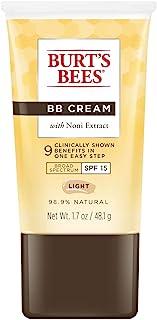 Burt's Bees BB Cream with SPF 15, Light, 1.7 Ounces