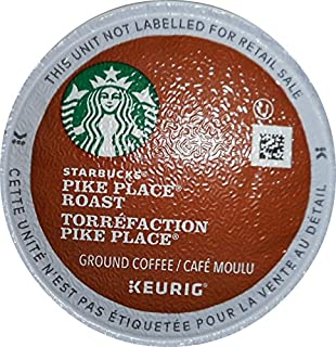 Starbucks Pike Place Roast Torrefaction, K-Cups, 54 Count (Packaging May Vary)