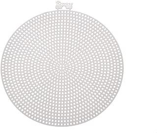 Darice Bulk Buy DIY Plastic Canvas Shape Circle 5.75 inches (12-Pack) 337816
