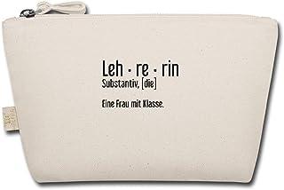 Spreadshirt Lehrerin Leh-re-rin Eine Frau Mit Klasse Geschenk Täschchen