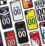 IDcaseFR Coque Silicone Bumper Souple Samsung Galaxy S5 -Créer ta Coque de Football Personnalisable...