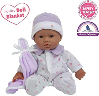 JC Toys, La Baby 11-inch Hispanic Washable Soft Body Play Doll For Children 12 Months and older, Designed by Berenguer
