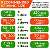 All-Natural Hemp Chews + Glucosamine for Dogs - Advanced Hip & Joint Supplement w/Hemp Oil Turmeric MSM Chondroitin + Hemp Protein to Improve Mobility - Joint Pain Relief Made in USA - Bacon Flavor #2