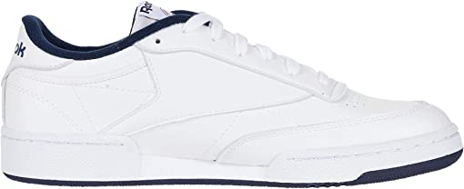 White/White/Collegiate Navy