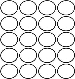 Nitril Butadien Gummi O-Ring 10,82mm Innendurchm 1,78mm Breite Schwarz de sourcing map 30stk