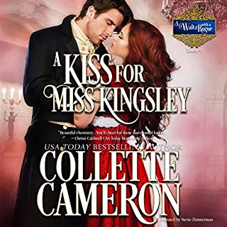 A Kiss for Miss Kingsley audiobook cover art
