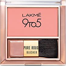 Lakme 9 To 5 Pure Rouge Blusher, Nude Flush, 6 g