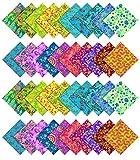 Soimoi Batik Druck Vorschnitt 10-Zoll-Baumwollgewebe