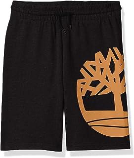 Timberland Boys' Drawstring Logo Knit Shorts