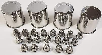 stainless wheel center caps
