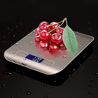 Digital-Kitchen-Scale-Food-Multifunction Digital Food Scale Kitchen Food Scale Digital Weight Grams Cook Scale Kitchen Scale with Tare Function With 4 Conversion Units Food Scale (With 2 Batteries)