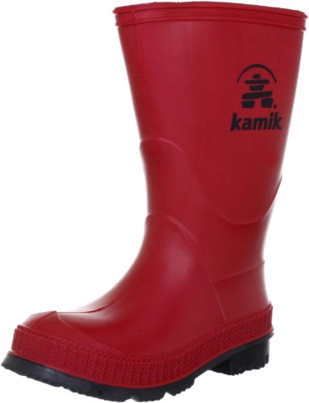 Kamik Kids Stomp Rain Boots & Drying Towel Bundle