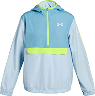 Girls' Packable 1/2 Zip Jacket